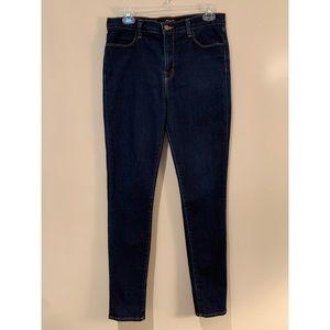 J Brand Maria High Rise Skinny Starless Wash Jeans